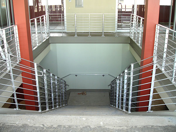 Aluminum Railings · Steel Stairs U0026 Aluminum Rails