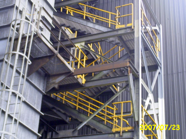 structural steel fabrication gray welding fabrication services